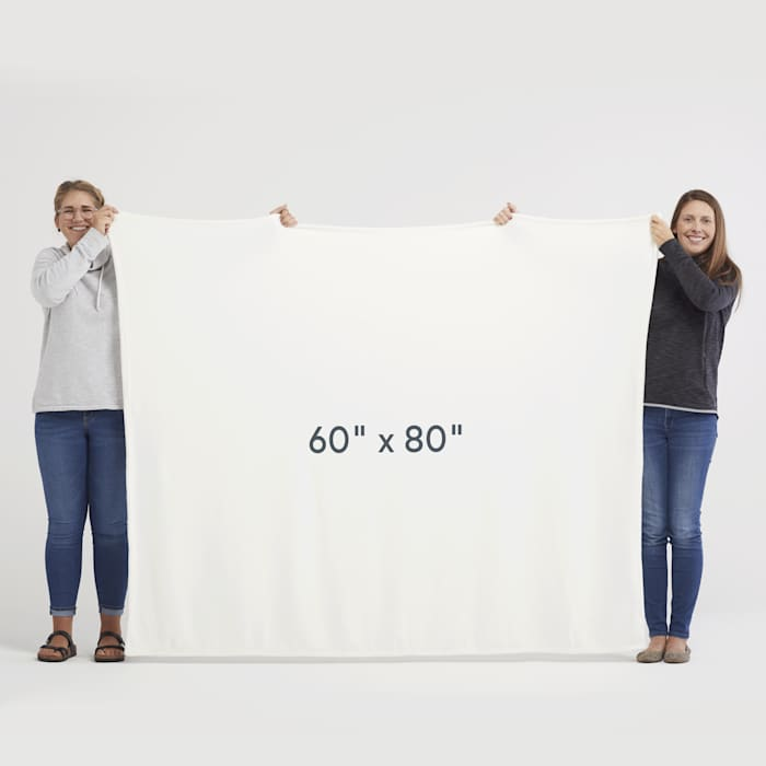 Custom blanket size