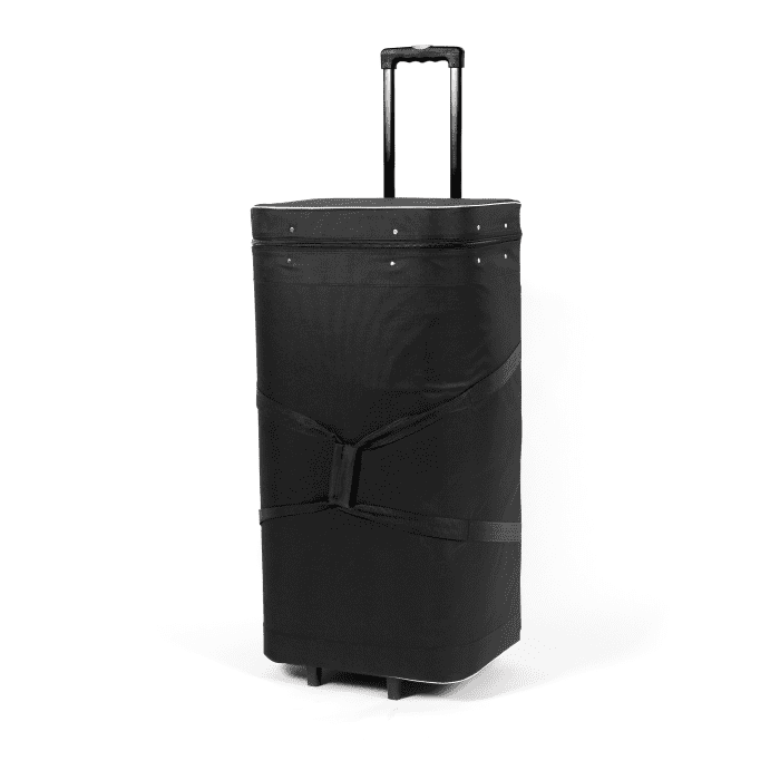 Trolley cases for pop-up displays