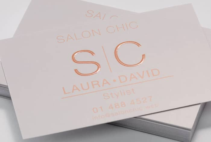 Custom Spot UV Business Card