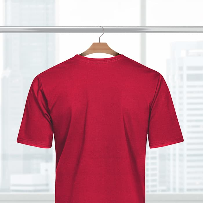 Polyester Tshirts - Red Back