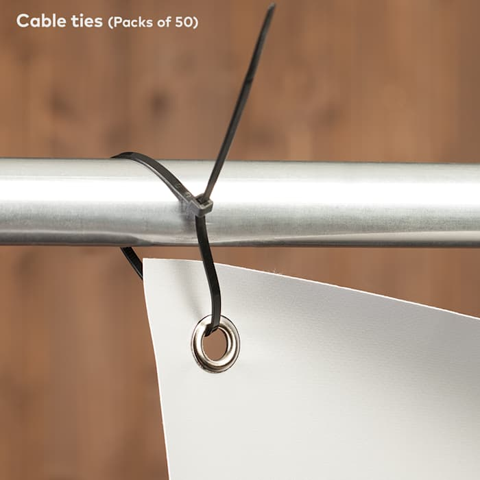 Cable ties - Vinyl banners