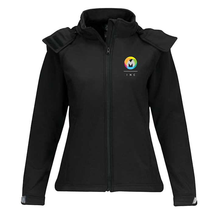 B&C™ Hooded Softshell Womens