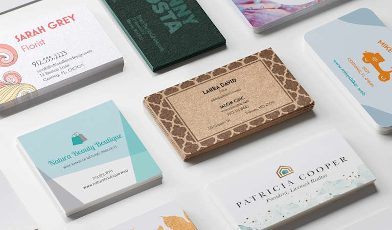 Business card all dimensions