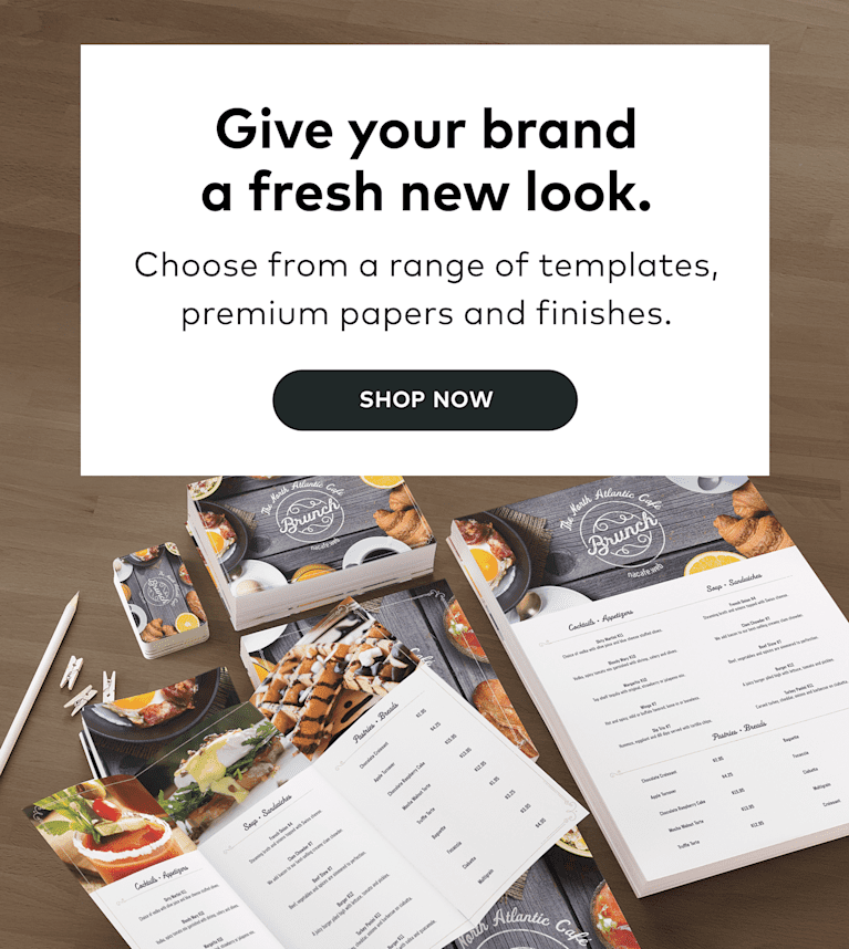 Give your brand a fresh new look.