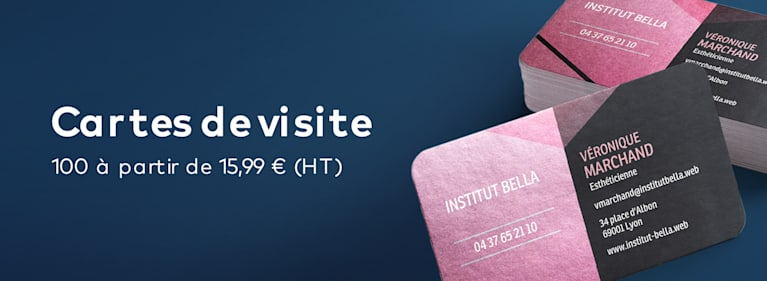 Cartes de visite Vistaprint FR