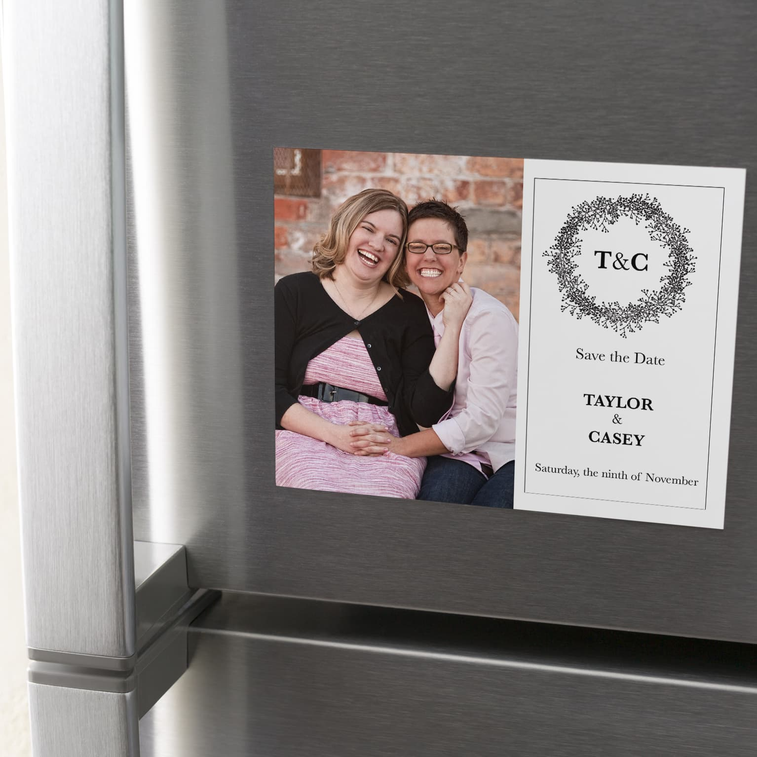 Date Magnets Magnetic Save The Dates