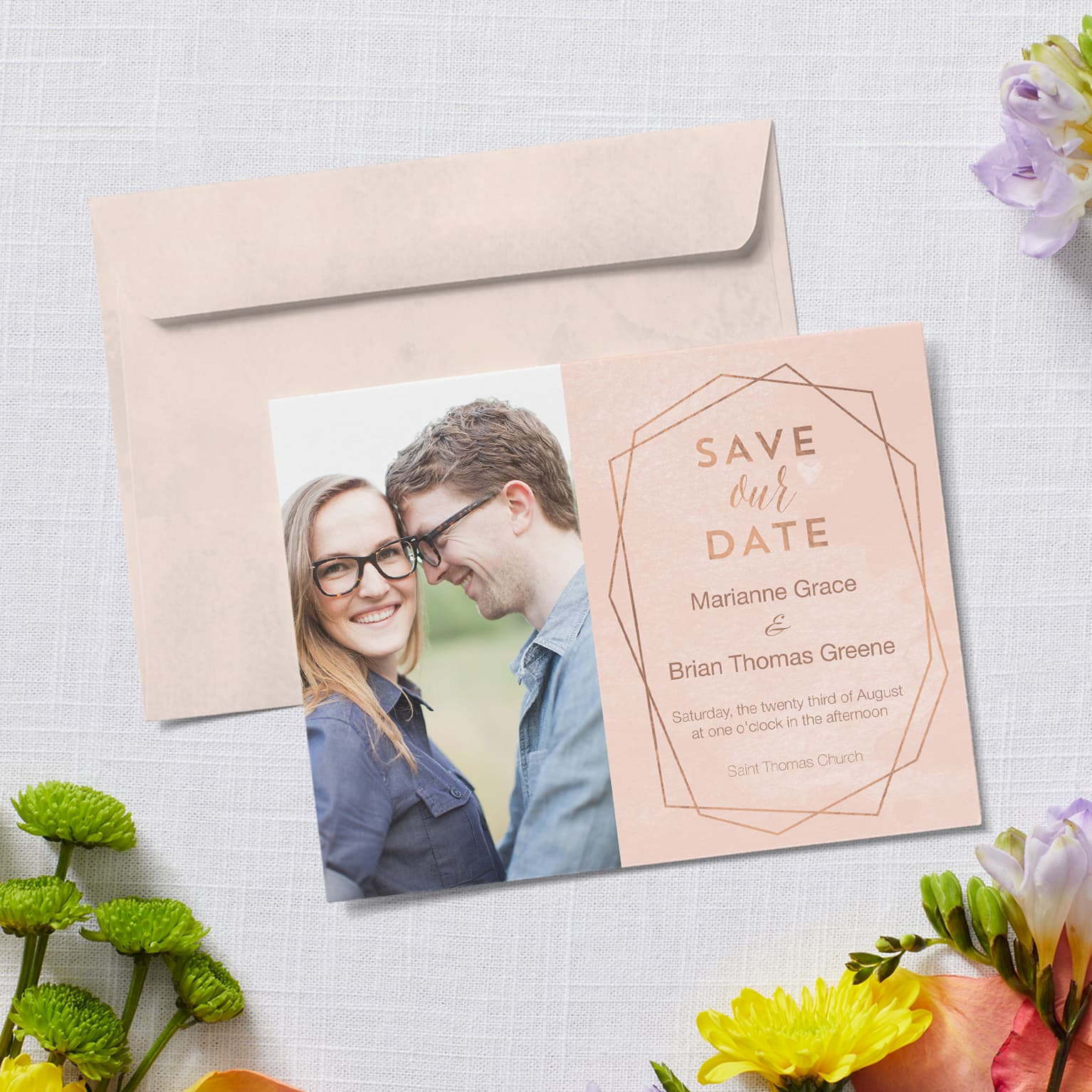 Save the date cards, save the date postcards | Vistaprint Wedding