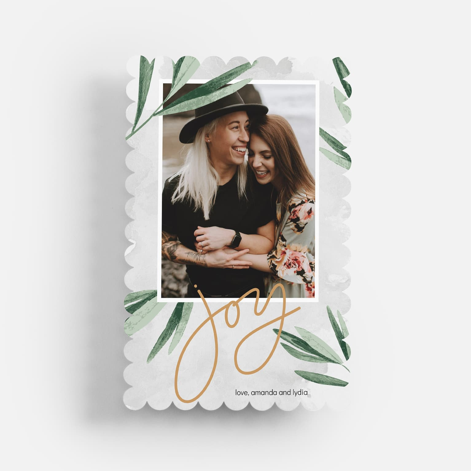 Christmas Presents Silver Christmas Card 2020 Personalised Hand Crafted