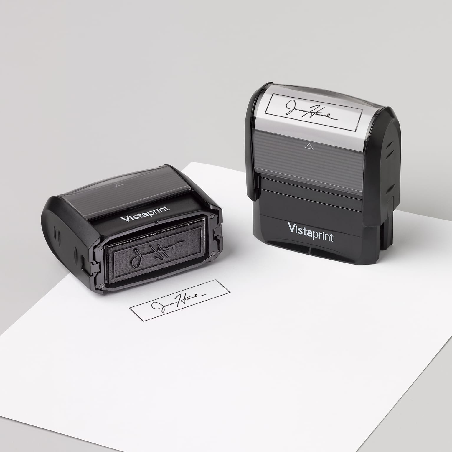 8 Colors to Choose from 75 Fonts ADF1-ADF15 31x10mm Self Inking Name Stamp Signature Custom Signature Stamp