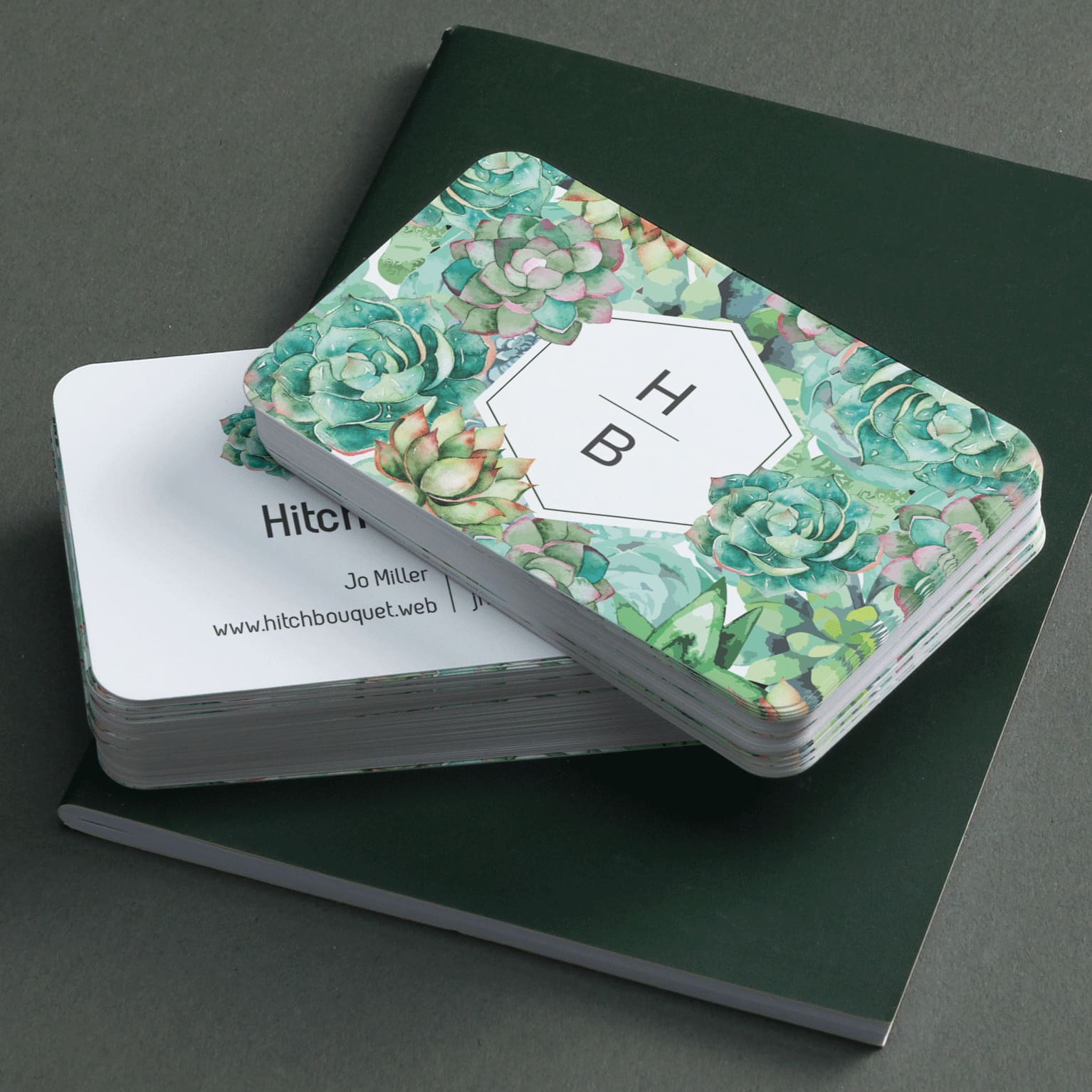 Rounded Corner Business Cards
