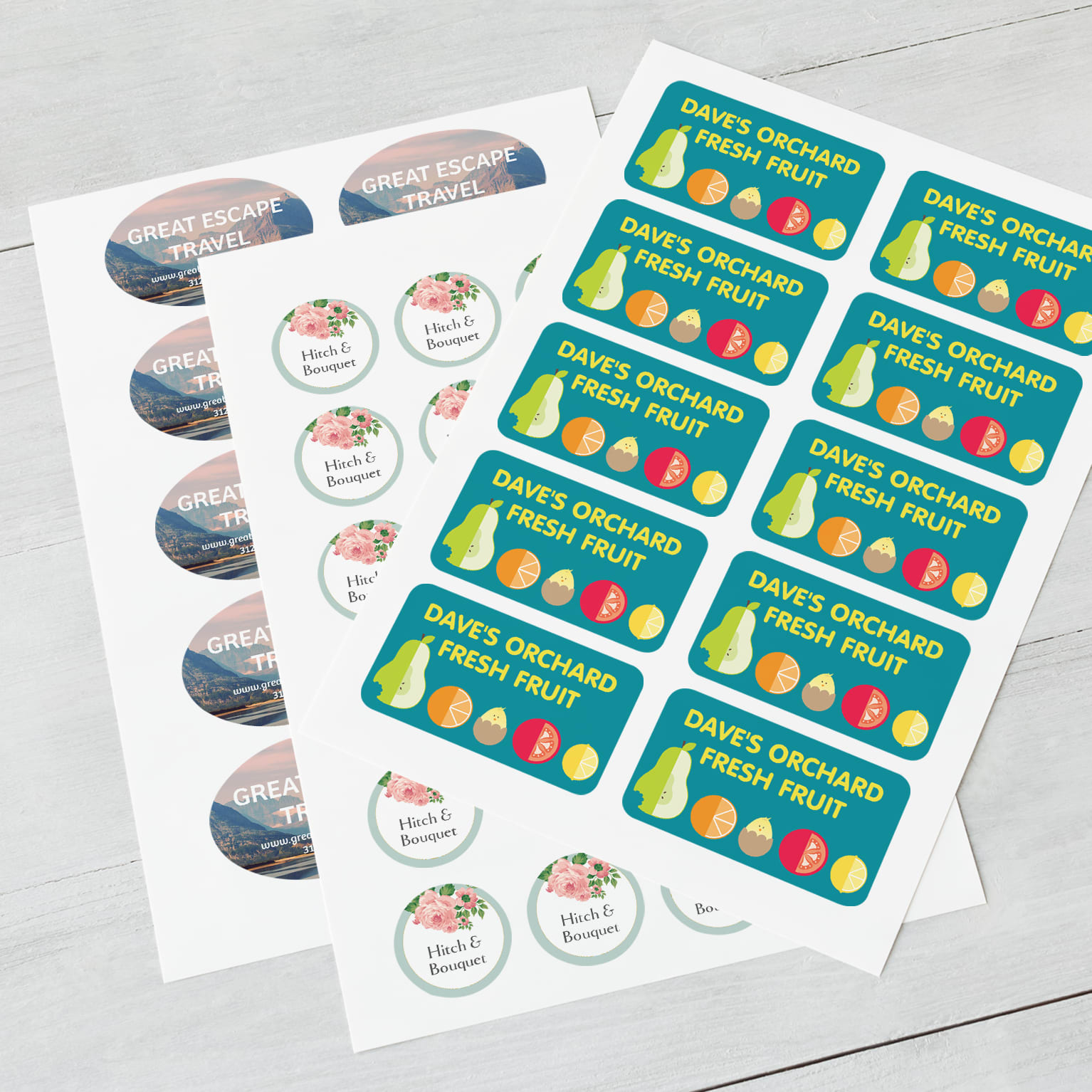 Customisable Stickers Vistaprint