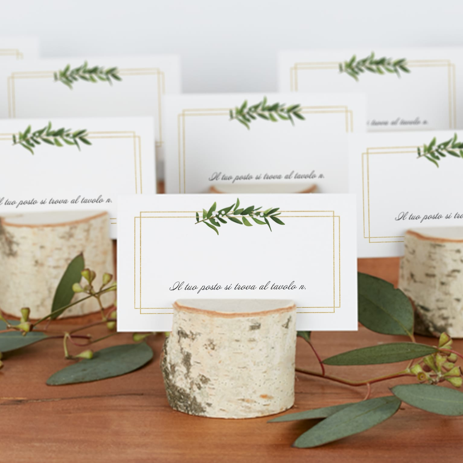 Segnaposto Matrimonio Per Uomini.Custom Place Cards Vistaprint