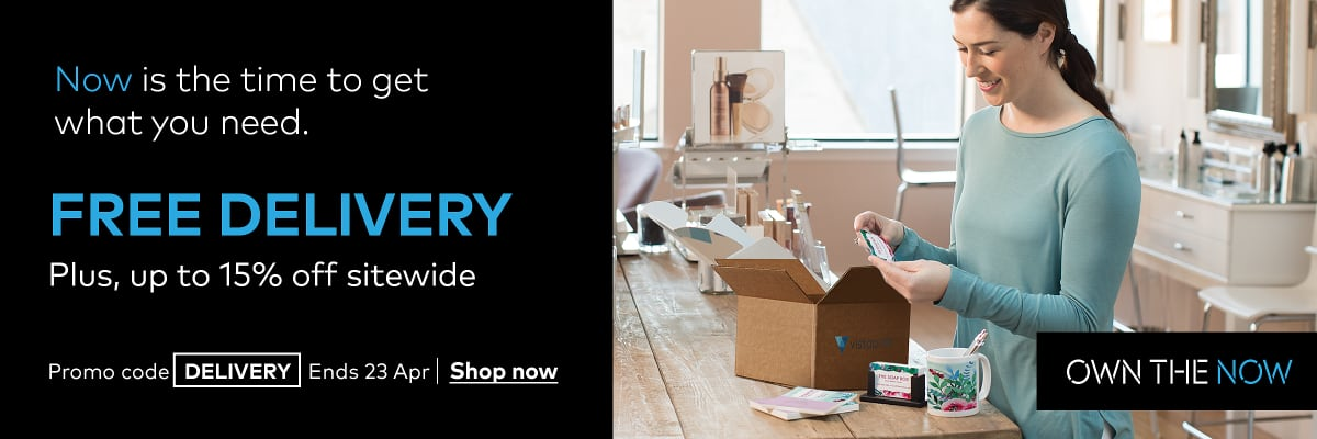 Free delivery + 15% off sitewide
