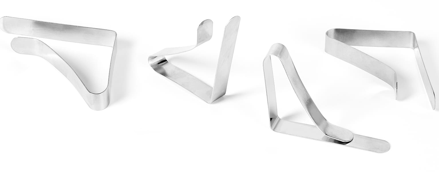 Outdoor table clamps