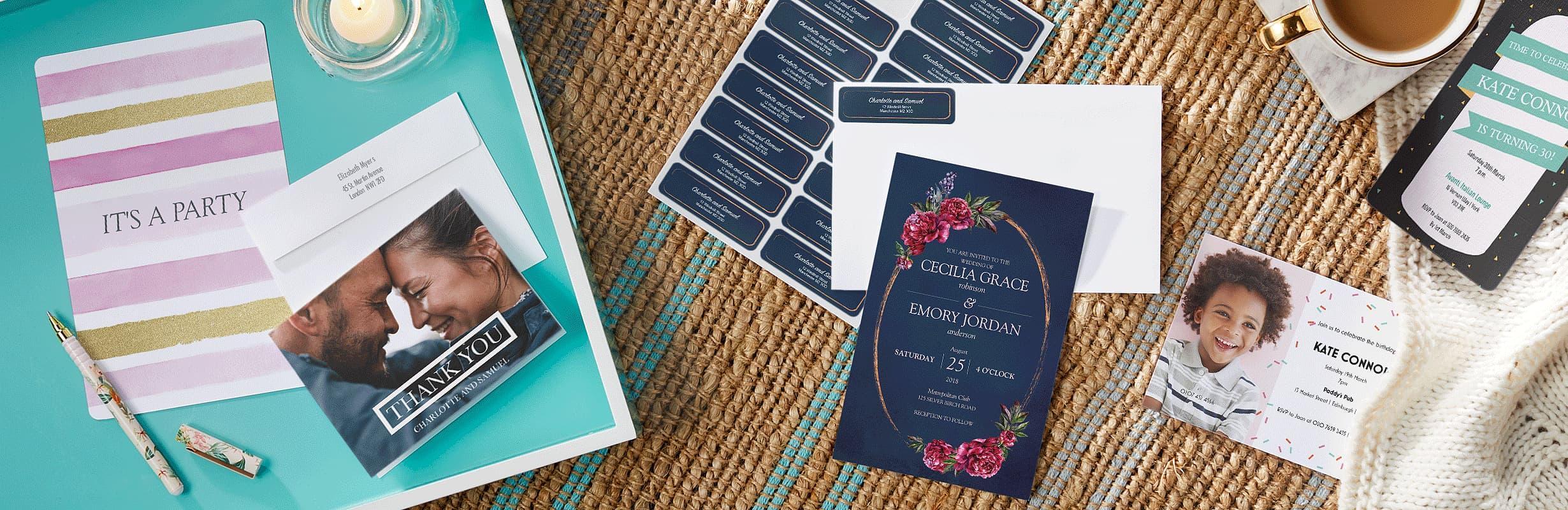 Custom Invitations with Vistaprint