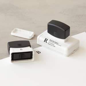 custom pre-inked stamps with Vistaprint