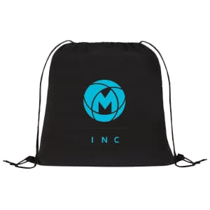 Non-woven drawstring cinch backpack