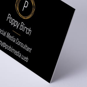 custom Ultra Thick Business Cards