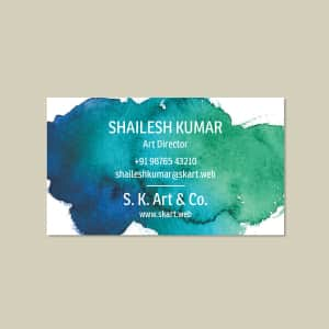 Standard Visiting Cards