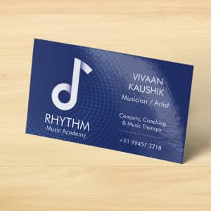 Glossy  Visiting Cards