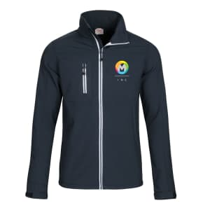 Printer Vert Men's Softshell Jackets