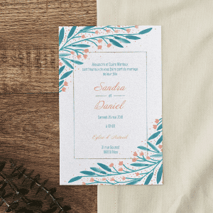 Cartes « save the date »