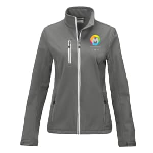 Printer Vert Women's Softshell Jackets