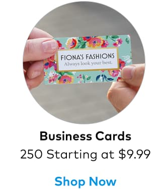Bestseller: 250 Business Cards from $9.99.