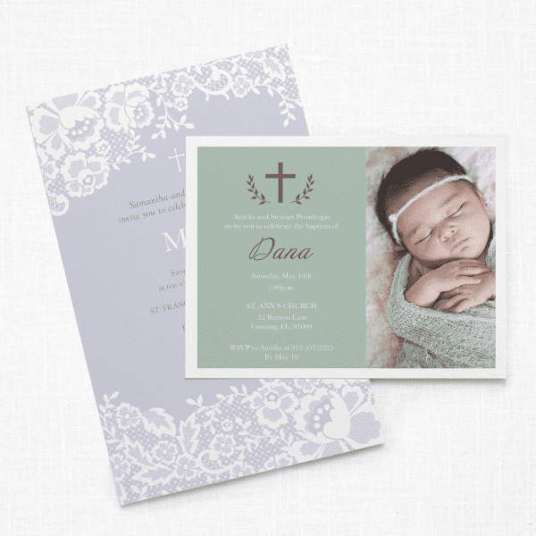 Christening U0026 Baptism Invitations