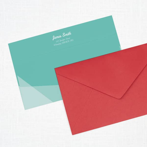Custom Envelopes with Vistaprint