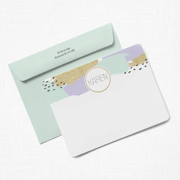 Custom Note Cards with Vistaprint