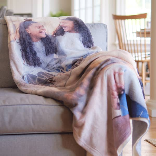 fleece blanket photo gifts