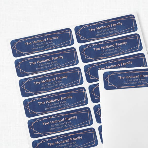 Custom Return Address Labels with Vistaprint