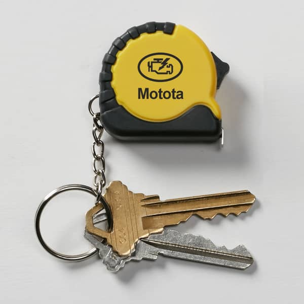 keychain tape measure