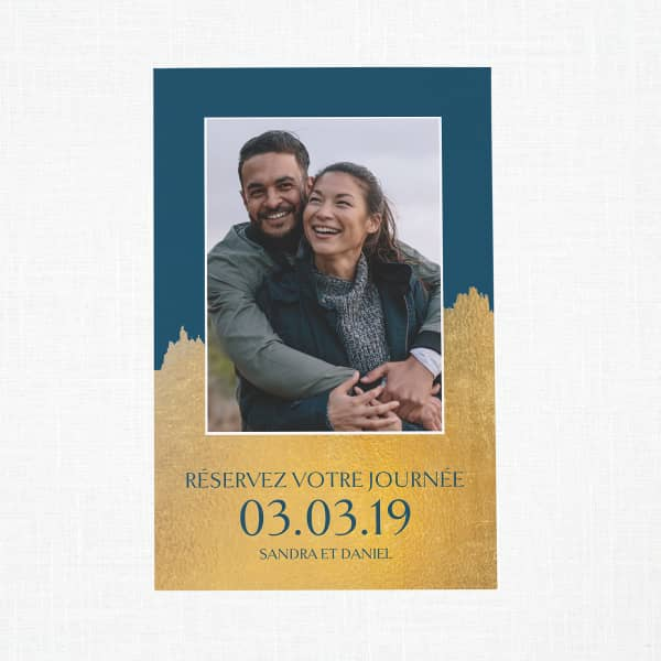 Personnalisez vos cartes « save the date » avec Vistaprint