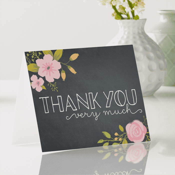Thank You Cards, Wedding Thank You Cards