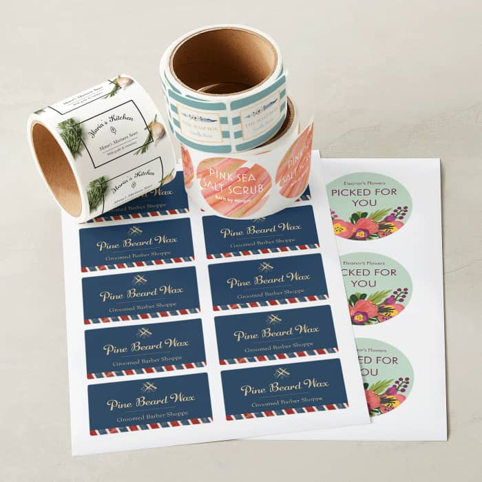 5f53867ca Custom Product Labels & Bottle Labels | Vistaprint