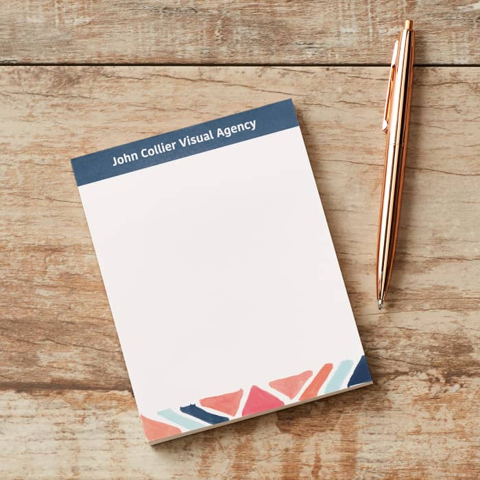 Personalized Papers Executive Stationery: Personalised Notepads & Business Memo Pads