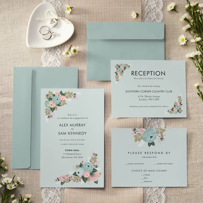 Personalised Wedding Invitations Announcements Vistaprint