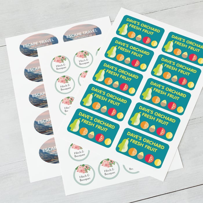 2d97c496d Personalised Stickers, Make Your Own Custom Stickers | Vistaprint