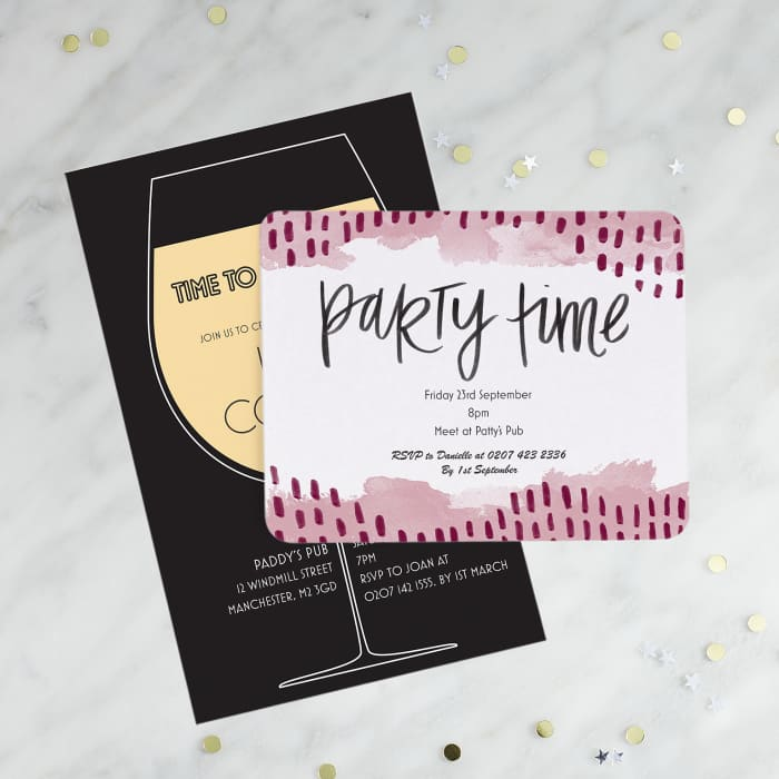 Custom Invitations Create Your Personalised Invitation