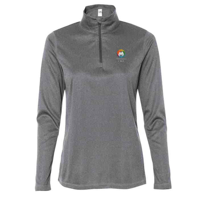 All Sport Ladies' Quarter-Zip Lightweight Pullovers