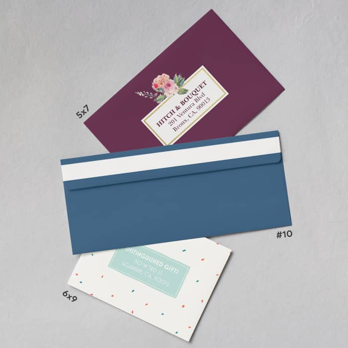 Customized envelopes