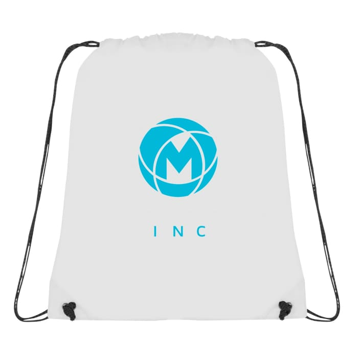 Polyester drawstring cinch backpack