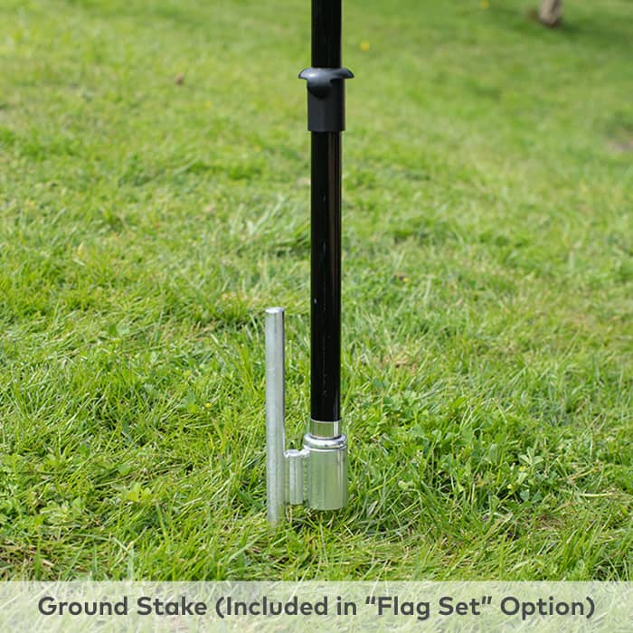 Ground stake base at Vistaprint