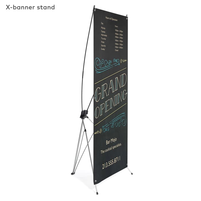 Personalized vinyl banner
