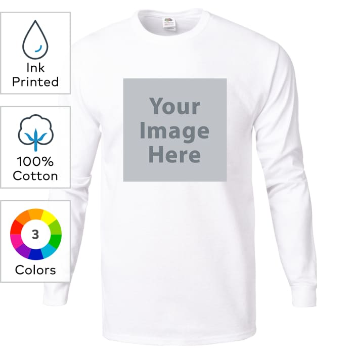 Fruit of the Loom® ink printed heavy cotton HD™ T-shirts
