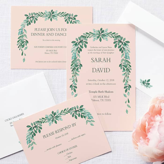 Wedding RSVP Cards & Response Cards