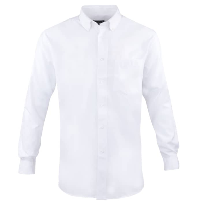 Elevate Tulare Men's Oxford Long Sleeve Dress Shirts
