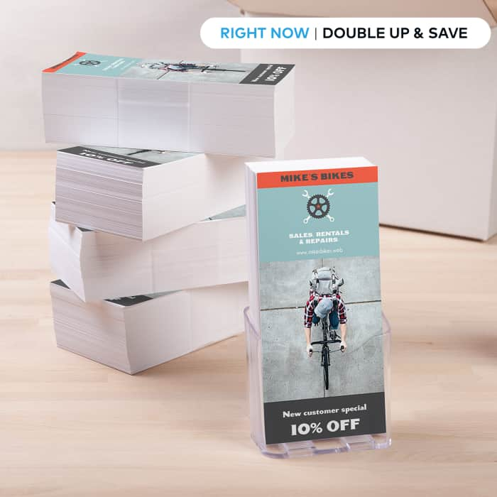 DL Flyers - Double Up and Save.